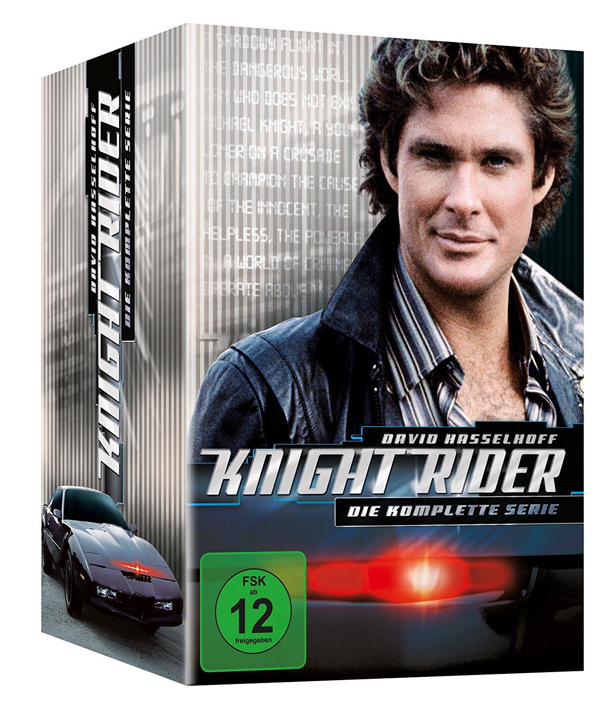 Knight Rider - Die komplette Serie (DVD-Box) für 23,22€ inkl. Versand [Kreditkarte benötigt] [Amazon.es]