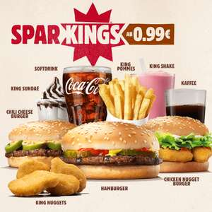 [Burger King App] 6 King Nuggets für 1,00 Euro