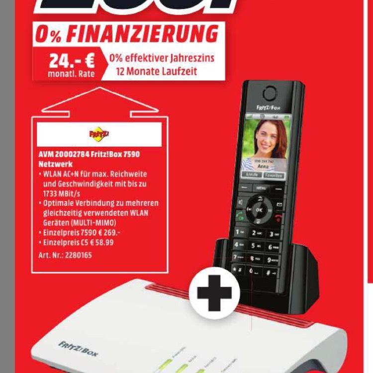 Fritz 7590 Bundle Fritz Fon C5