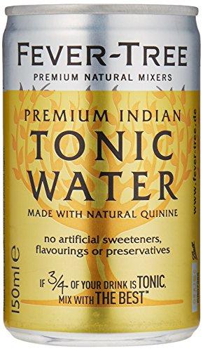 Fever Tree Tonic Water 24 Dosen 0,15l für 17,99€ (14€ möglich) + 6€ Pfand - 75 cent je Dose - Rabatt auf 58 cent je Dose möglich! Perfect für Gin Tonic [amazon Prime]