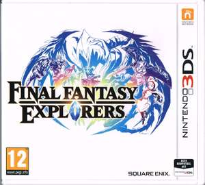 Final Fantasy Explorers (3DS) für 18,89€ (Gameware)