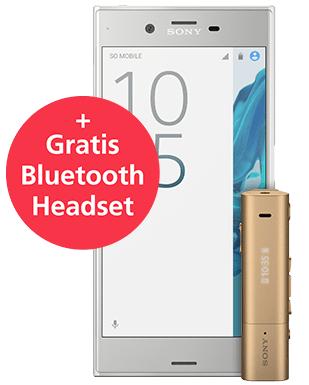 Sony Xperia XZ in Blau / Silber für 402,99€ inkl. Versand