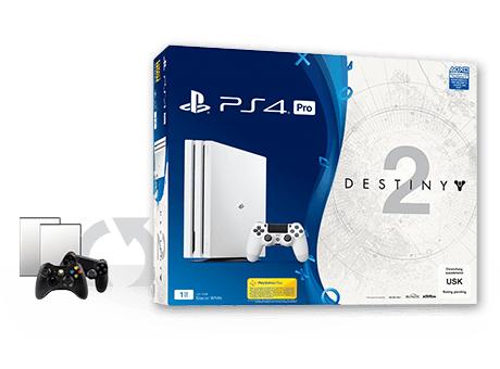 Gamestop Ps4 Pro in weiß plus Destiny 2,Trade in Bonus! Doppelt soviel für Games und Zubehör