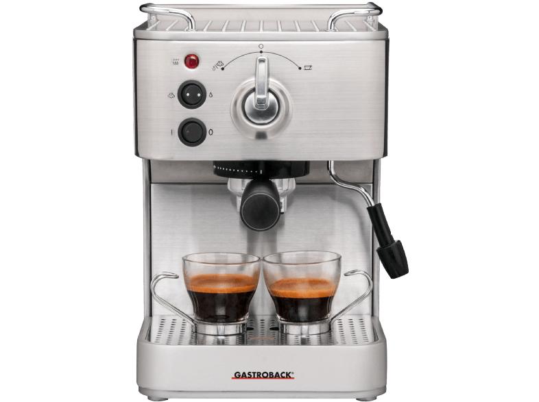 [Mediamarkt] GASTROBACK 42606 Design Espresso Plus Espressomaschine Edelstahl/Silber