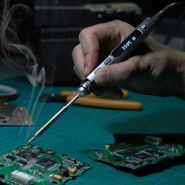 TS100 Lötkolben (portabel, schnelle Aufheizzeit, Accelerometer, Temperaturregelung)