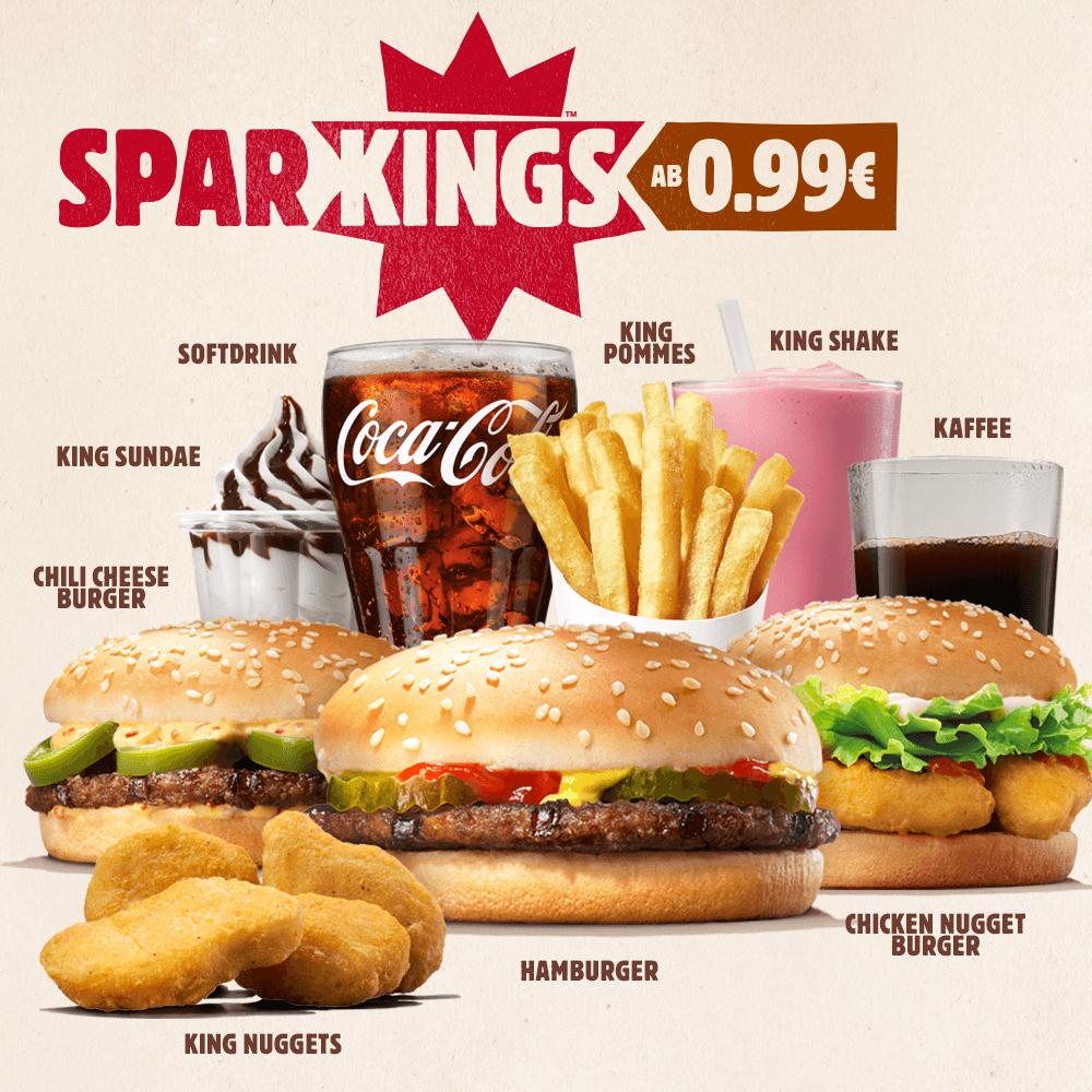 [Burger King APP] Softdrink 0,4 Liter für 99 Cent
