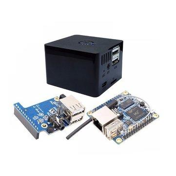 [Banggood] Orange Pi Zero 512MB Development Board + Expansion Board + Black Case Kit