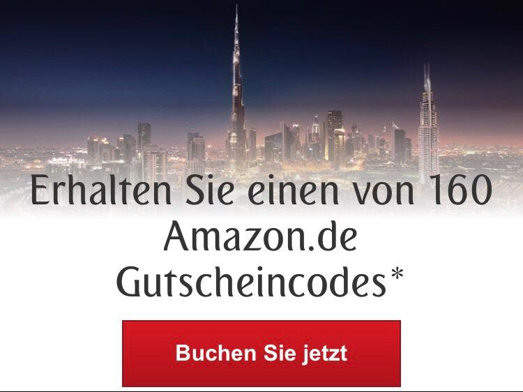 Emirates - Buchung nach Dubai mit 100€ Amazon Gutschein