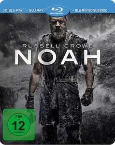 Noah Steelbook (3D Blu-ray + 2D + Bonus-Disc) für 9,76€ (Media-Dealer)