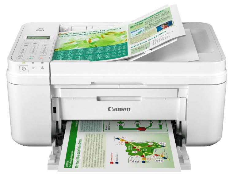 @MM CANON PIXMA MX495 Tintenstrahl mit FINE Druckköpfen 4-in-1 Tinten-Multifunktionsdrucker WLAN Netzwerkfähig