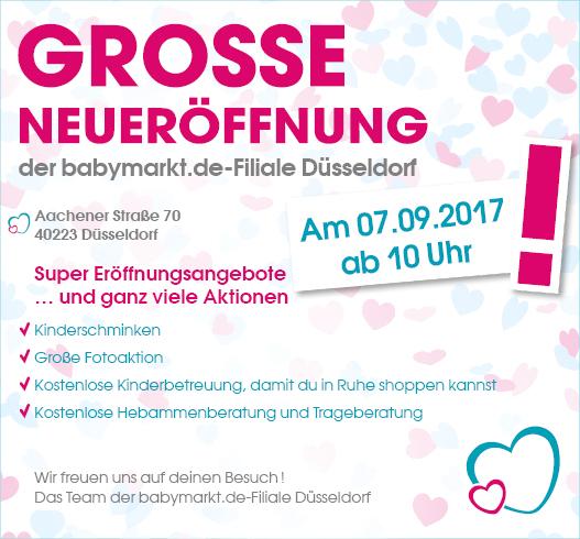 10% auf alles by Babymarkt – Neueröffnung Düsseldorf