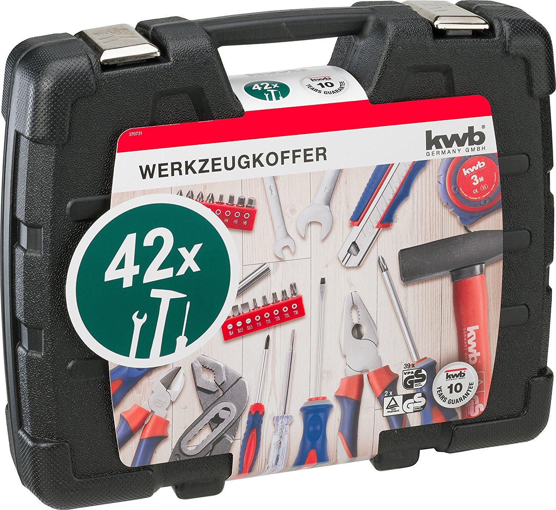 [Lokal Kaufland] Werkzeugkoffer-Set kwb 42-teilig