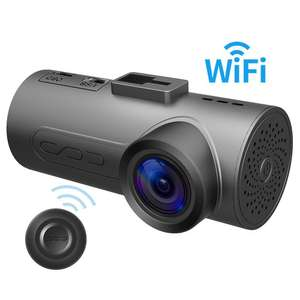 [AMAZON] Dashcam FHD 1080P HaloCam C1 Plus - WiFi, 170° Winkel,