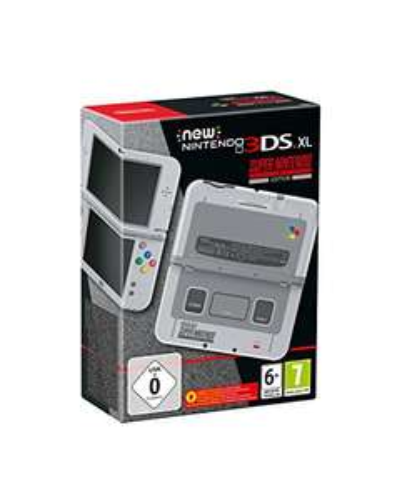 [Amazon] New Nintendo 3DS XL Konsole SNES Edition für 199,99€ verfügbar