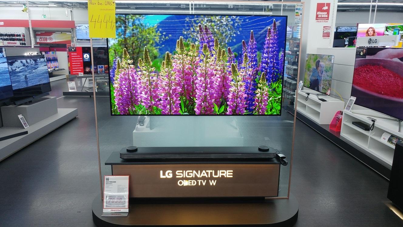 LG OLED 65W7V für 4444€ [Lokal MM Lübeck - Versand deutschlandweit möglich]