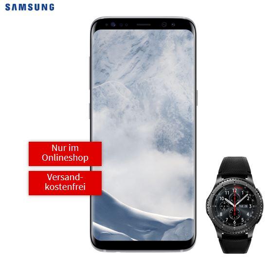 Samsung Galaxy S8 + S3 Frontier für effektiv 19,22€ mit Vertrag