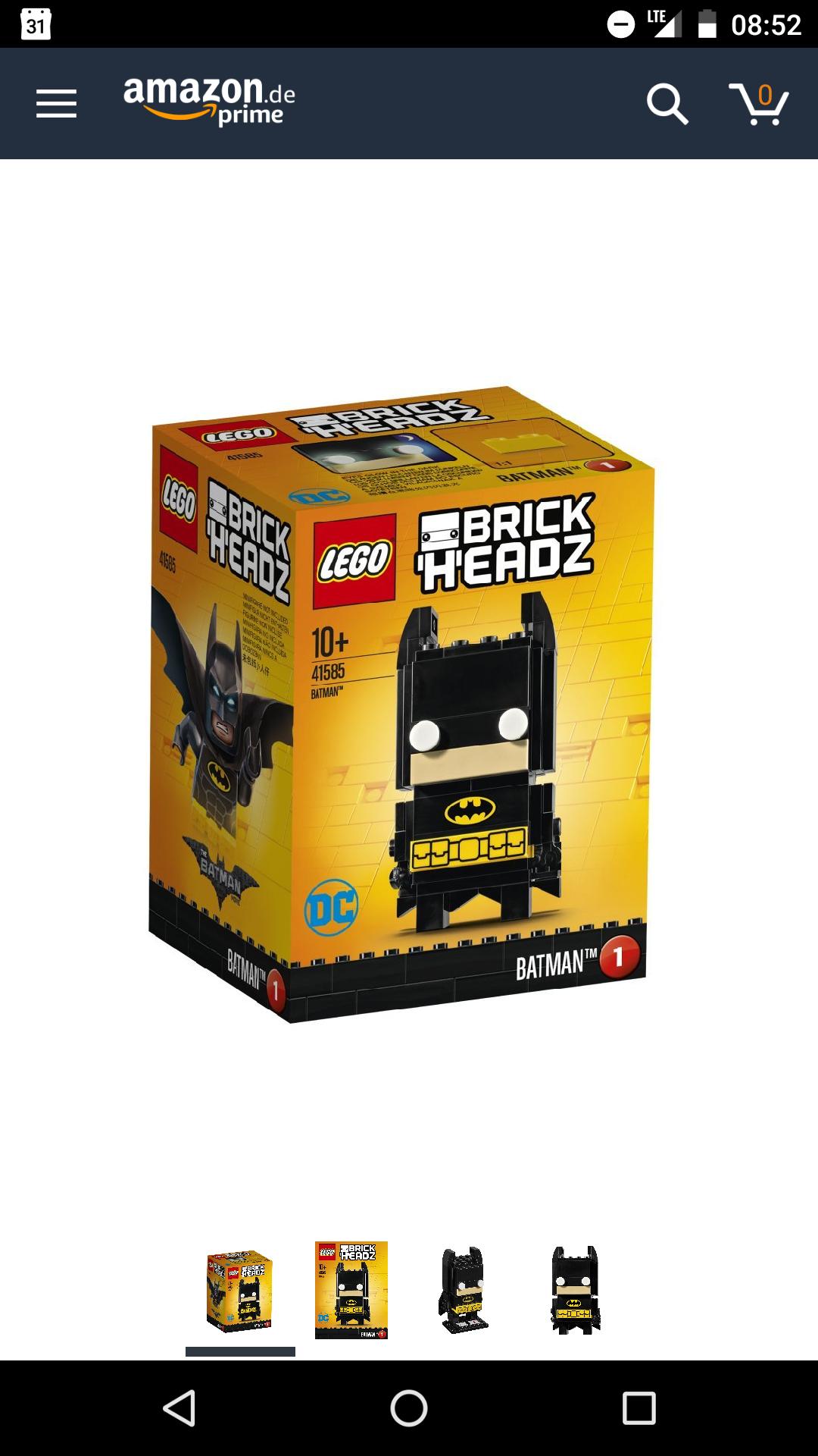 [SMDV] Lego Brickheadz ab