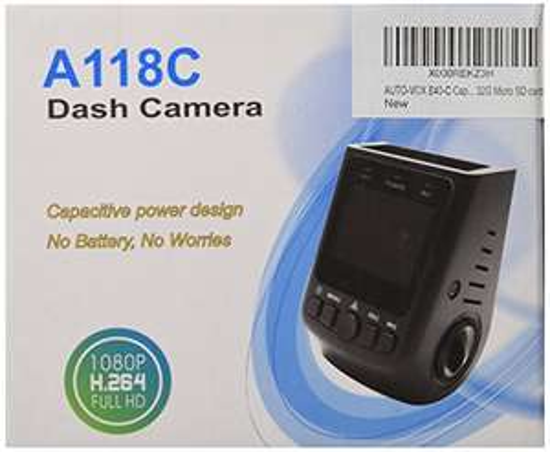 AUTOVOX B40C Dashcam + 32GB MicroSD 30% Günstiger