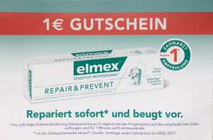 Elmex Sensitive Professional 1 € Sofotrabatt Coupon