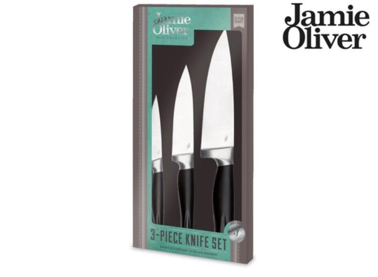 Jamie Oliver Messerset 3 teilig 65% zu UVP