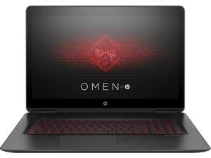 "HP OMEN Notebook 15"" 15-ax213ng (Intel Core i7-7700HQ, 16GB RAM, 256GB SSD, 1TB HDD, NVIDIA GeForce GTX 1050 Ti) für 1025,14€ im HP Education Store"