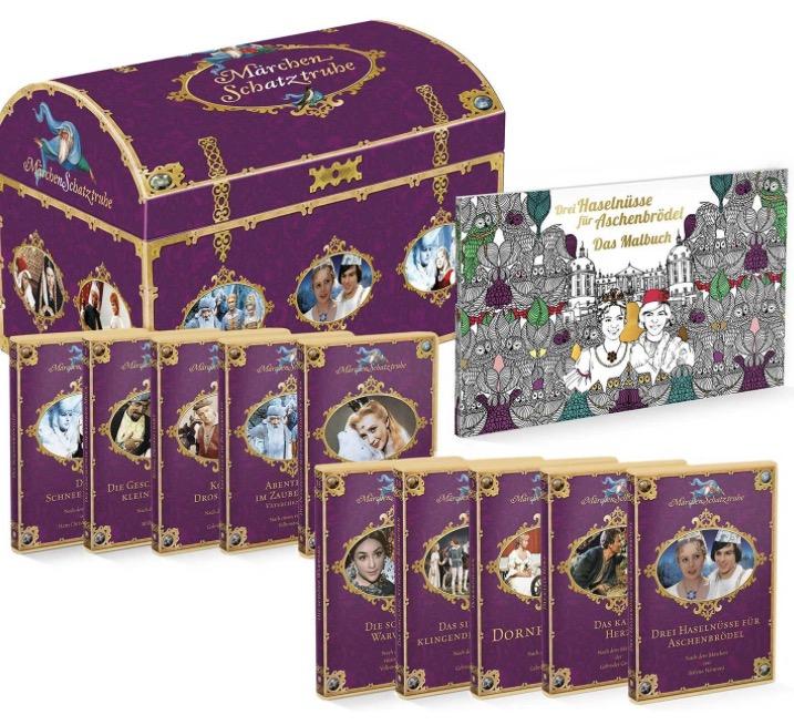 DEFA Märchenschatztruhe 20 DVD in einer Box zum unschlagbaren Preis!
