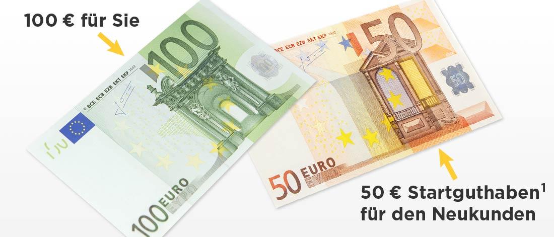 Kostenloses Girokonto der Commerzbank, 100€ für Werber und 50€ für Geworbenen