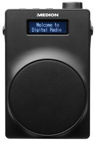 MEDION LIFE E66880 DAB+ Radio, PLL UKW, 1,8 Zoll Display, Akku, Teleskopantenne - auch in weiß