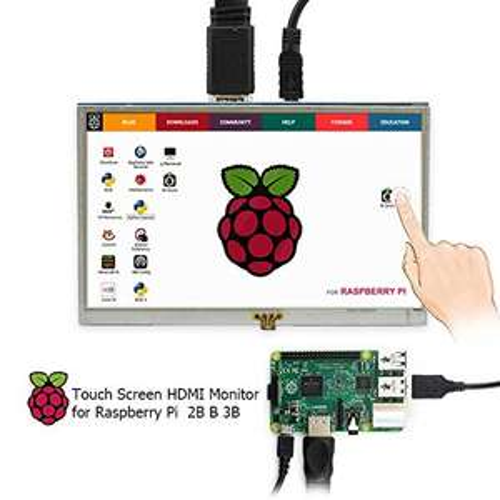 5 Zoll HDMI LCD 800*480 Touchscreen Monitor für Raspberry