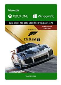 Forza Motorsport 7 - Ultimate Edition + PlayAnywhere (XBOX UND PC nutzbar)