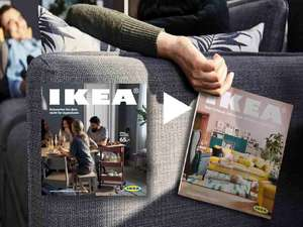 Alten Ikea-Katalog zurückbringen und 10€ Aktionskarte bekommen [Ikea Brunnthal München]