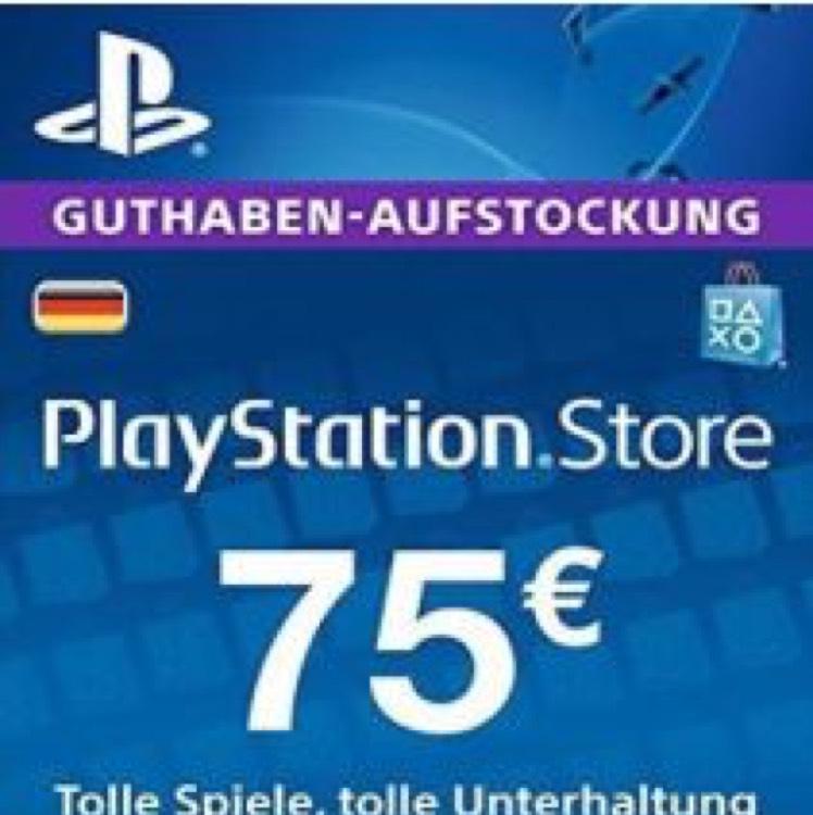 75€ PSN Guthaben Germany für 51,84€