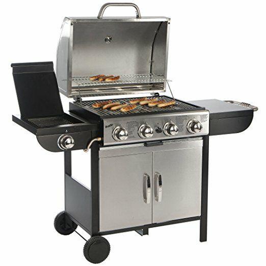 Bruzzzler Gasgrill 4 + 1, grillwagen  @Amazon -30%