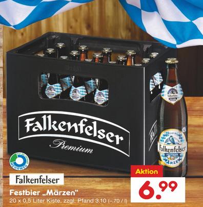 Netto MD bundesweit - Falkenfelser (Oktober-)Festbier Märzen Euro 6,99