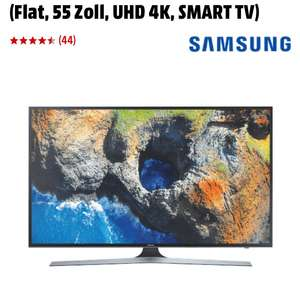 SAMSUNG UE55MU6179UXZG LED TV (Flat, 55 Zoll, UHD 4K, SMART TV)