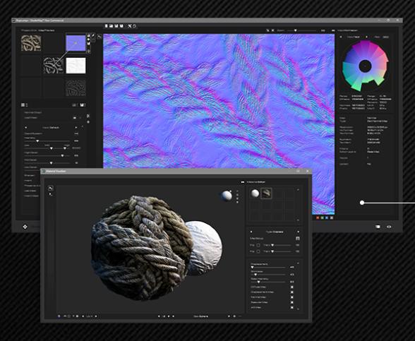 ShaderMap 4.0 Texturen-Software für 3D-Modelle jetzt GRATIS
