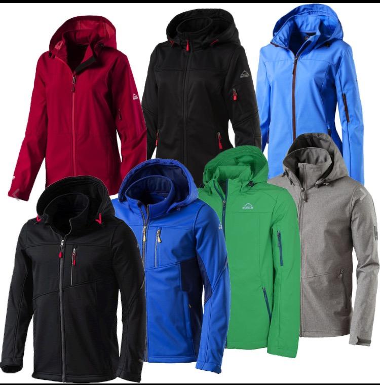 McKinley Damen und Herren Softshell-Jacken in allen Größen und Farben @ebay WOW