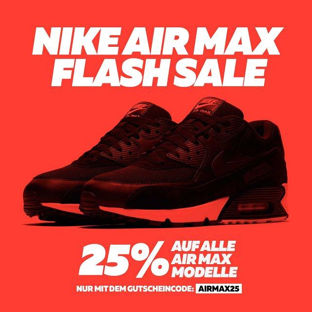 25% auf einige Nike Air Max