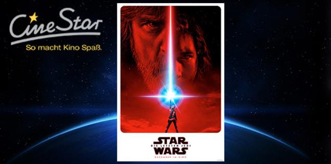 5 Cinestar Kinogutscheine/Einzeltickets für 27€