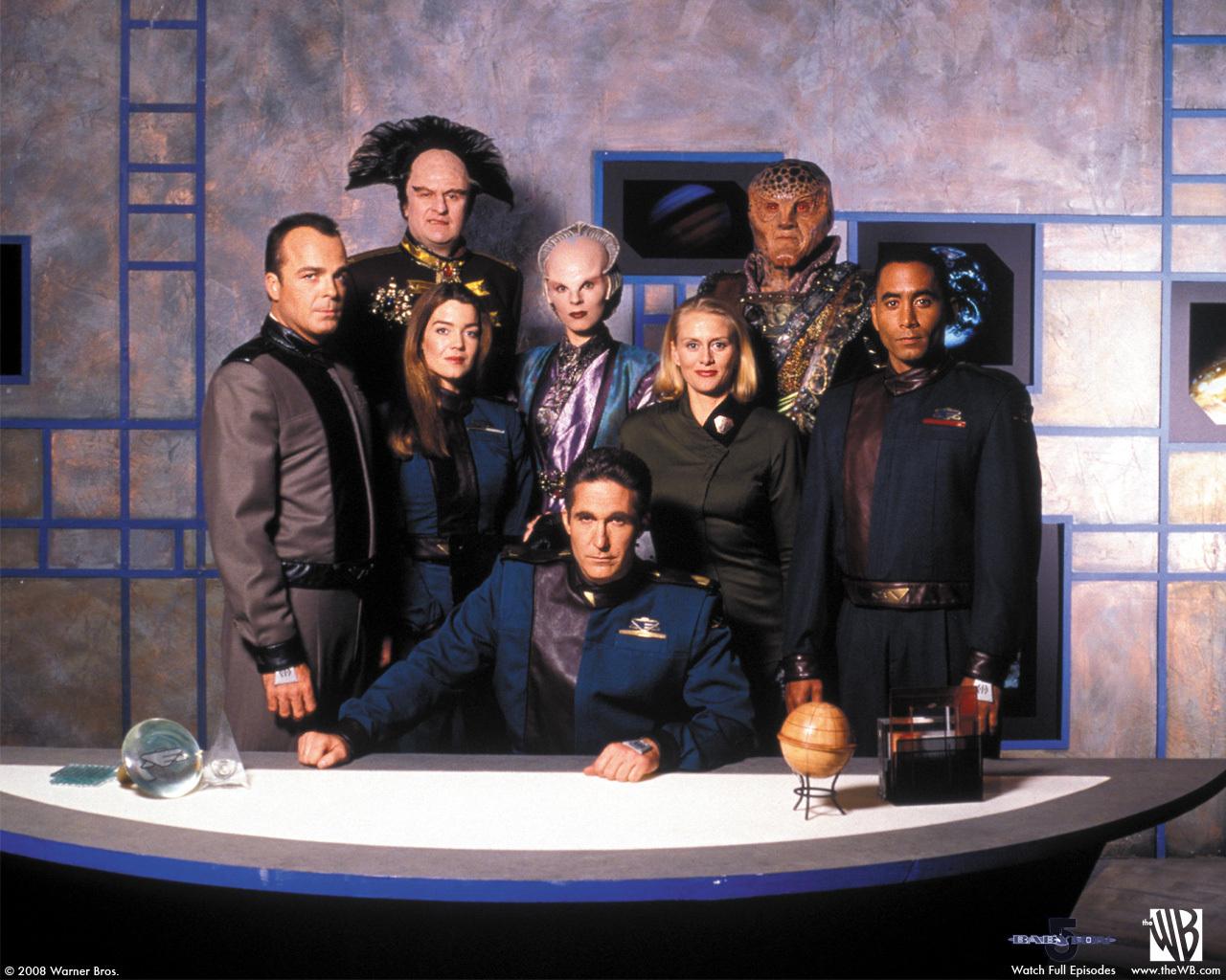 Alle Folgen Babylon 5 for free (englisch) über VPN