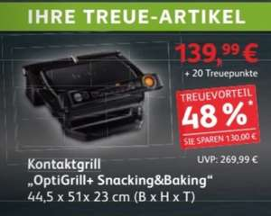 [Kaufland] TEFAL GC7148 OptiGrill+ Snacking&Baking bis 18.11.17