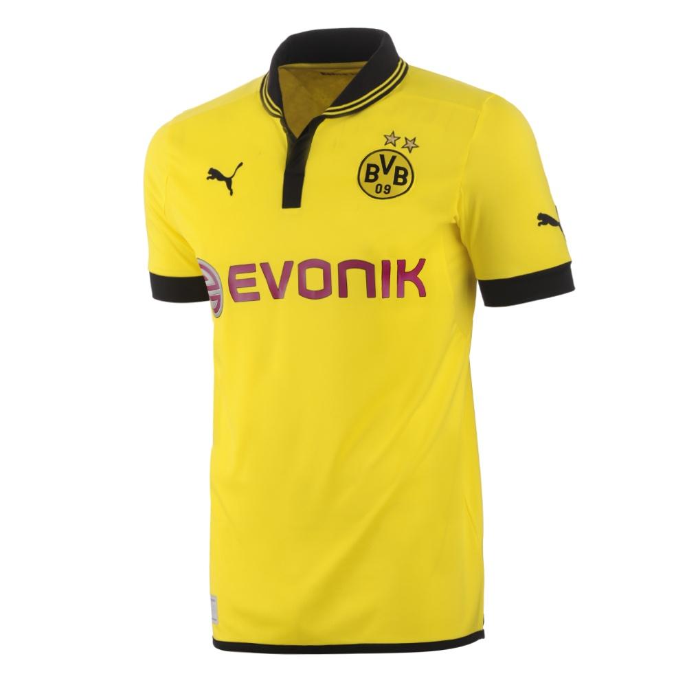 *Aufgefüllt* Puma BVB Borussia Dortmund Heim Trikot (Saison Frühjahr/Sommer 2013) in XL, XXL und XXXL