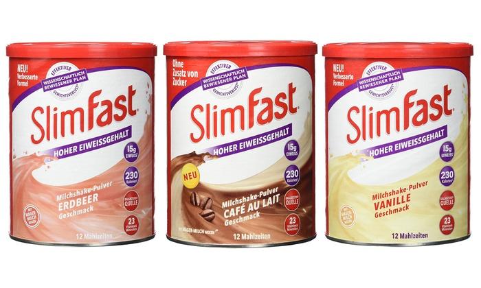 Slimfast 6er-Paket , versch. Sorten ab 29,99€ @ Groupon