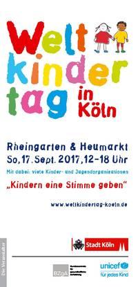 Freie ÖPNV-Fahrt für alle Kinder am Weltkindertag im VRS-Netz (16. - 17.9.) & NRW (20.9.)!