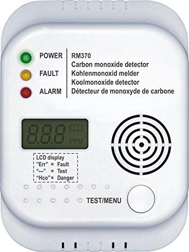 Smartwares Kohlenmonoxid Melder RM370 - 7 Jahres Senor