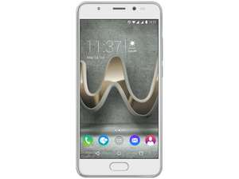 WIKO U Feel Prime 32 GB Silber Dual SIM (5,0'' FHD IPS, LTE, Snapdragon 430 Octacore, 4GB RAM, Fingerabdrucksensor, 13,0MP + 8,0MP Kamera, 3000mAh) für 138,99€