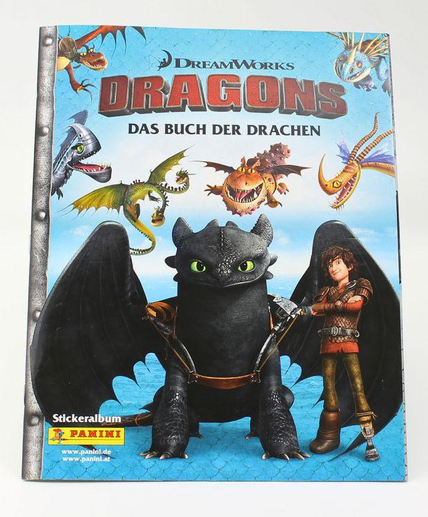 Gratis Stickeralbum + 6 Sticker von Dragons oder Bob der Baumeister bei [Panini]