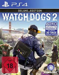 Watch Dogs 2 Deluxe Edition (PS4/Xbox One/ PC) für 19,99€ (GameStop)