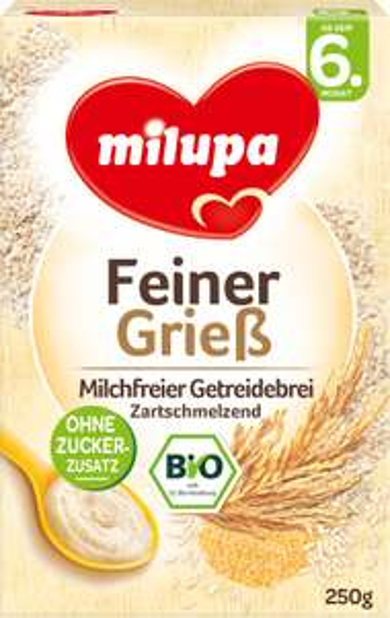 Rossmann Onlineshop: 2+1 Gratis Milupa Getreidebrei Feiner Grieß