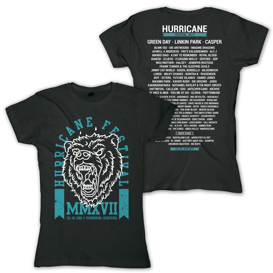 Festivalmerchandise im Sale - Hurricane, Southside, Rock am Ring uvm